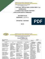 Plan de Asignatura Matemáticas Tercero Nuevo (1)