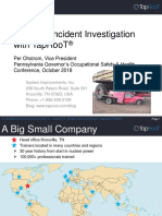 Effective Incident Investigation With TapRooT(R) (2)
