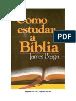 Como estudar Bíblia