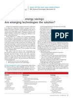 Global Trends in Energy Savings Are Emerging Technologies the Solution