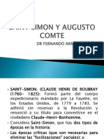 Concepto de Socilogia Precursores , SAINT SIMON Y AUGUSTO COMTE, Marx, Durkheim Herbet Spencer y Weber