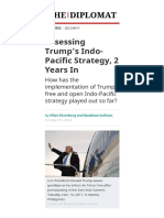 Assessing Trump's Indo-Pacific Strategy