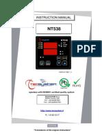 Manual de Instruções  - NT538