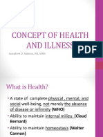 Health and Illness 1