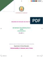Std12 Business Mathematics and Statistics EM Vol 2 Www.tntextbooks.in.PDF