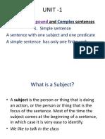 XI Grammar