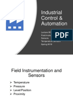 Thermal Sensors in Industrial Automation Applications