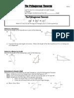 unit 6 section 2 pythagorean theorem