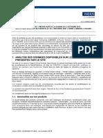 AVIS INERIS en Réponse à La Saisine Du 02 Octobre 2019