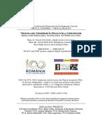Proceedings of CNIV 2019 (ISSN 1842-4708)