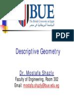 Descriptive Geometry PDF