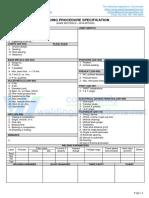 WPS format for Asme Ix - Wps - Fcaw Gmaw