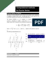 Fourier3 Computational Methods