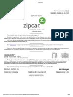 Zip Car Secondary Offering