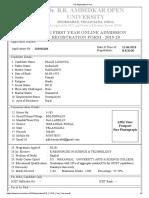 Palle Lavanya Blisc PG Application Form