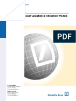 Asset Valuation Allocation Models-Deutsche Bank (2001)