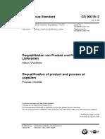 GS90018-2 Requalifikation Von Produkt Und Prozess Bei Lieferanten 2017-08