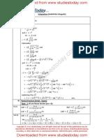 CBSE Class 12 Mathematics Integration Worksheet (5)