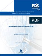 E-book Matemática e Estatística