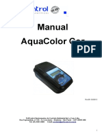 Manual Aquacolor Cor - IP67