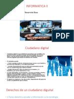 Melisa, Ciudadania Digital