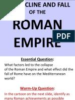 Fall of the Roman EmpireCJ