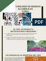 biotecnologia en bebidas alcoholicas