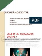 Ciudadano Digital 103 Salas Martinez