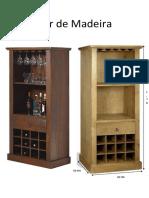 Projeto de um Bar de Madeira