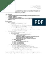 adv treble lesson plan 9-10-19