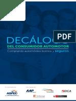 Decálogo del Consumidor Automotor