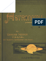 Astronomy - A Simple Introduction to a Noble Science. by Edmunnd Nelson