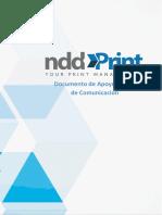Documento de Apoyo Al Plan de Comunicación NDDPrint