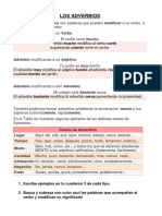 Adverbio Ficha