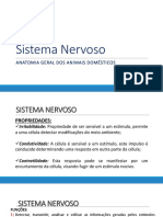 Sistema Nervoso - Aula - Animais Domésticos -UNIFAJ