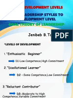 Four Development Levels