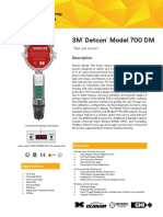 Detcon DM-700 Catalogo