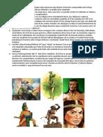 Heroes Indigenas de Centro America