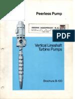 Bombas de Agua Potable-eje Vertical