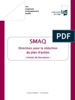 Directives Plan Daction Formation