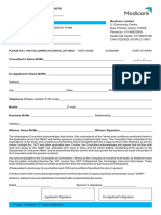 Consultant Application Form book