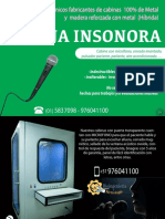 Cabinas Insonorizadas, audiometrica, sonoamortiuada