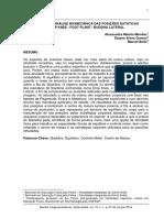 Slackline - analise biomecânica