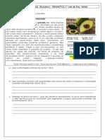 Estudo do texto (jornalistico), artigo e pronomes - 6º Ano Ens. Médio - Gramática
