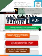 Norme algérienne d'Audit 300 Planification Audit