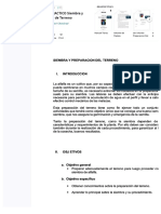 Informe Practico Siembra y Preparacion de Terreno