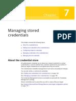Managing Stored Credentials
