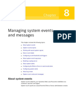 Managing System Events and Messages