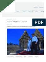 Four 'Cs' of Chennai Summit _ ORF