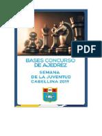 Bases Concurso Ajedrez 2019